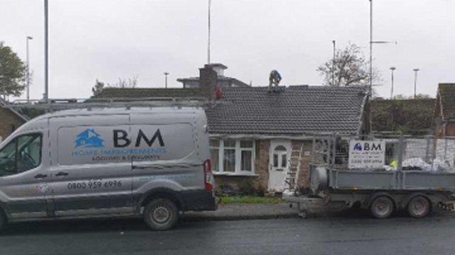 BM Home Improvements Van